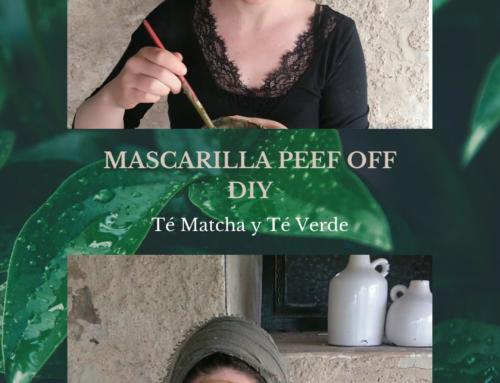 Mascarilla peel off de té matcha y te verde